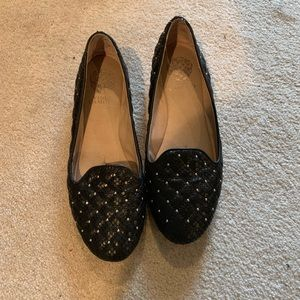 Vince Camuto quilted flats